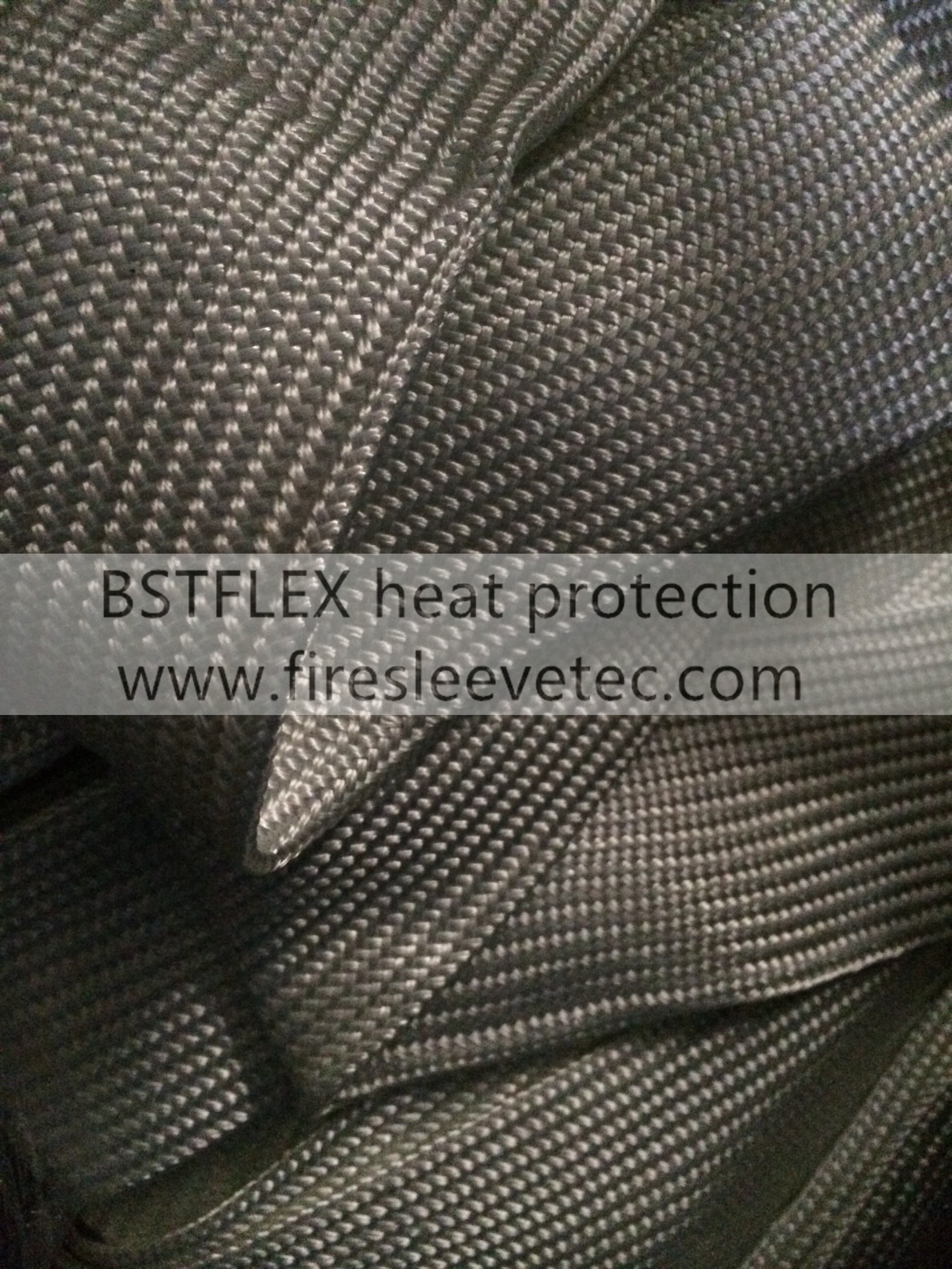 Braided glass fiber sleeve/Tubing