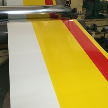 3 Color Coated Aluminum Coil