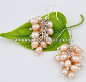 freshwater pearl dangle earrings Dangle Earring