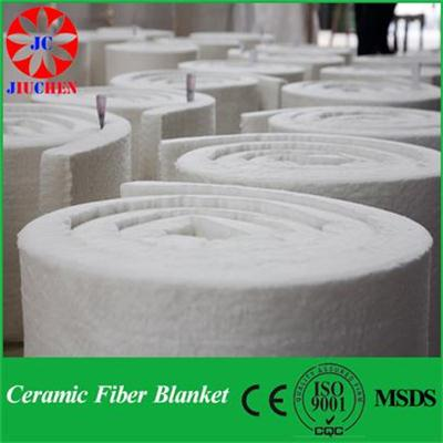 COM 1100℃ Ceramic Fiber Blanket For Boiler Insulation JC Blanket