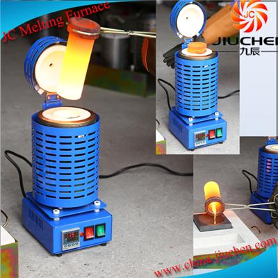 110V 1000Watt 1kg Small Electric Gold Silver Melting Furnace JC-K-110-1