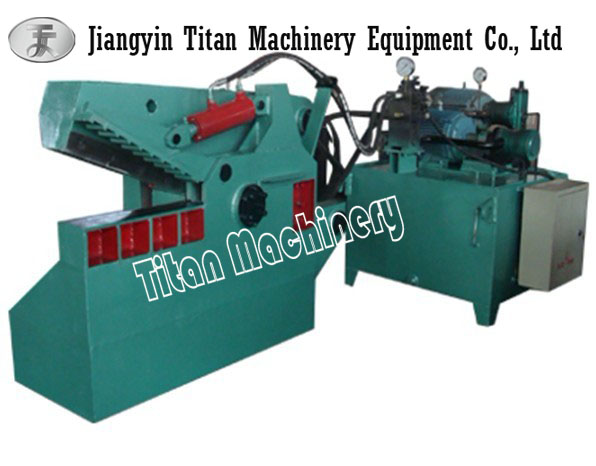 (Titan) Q43-630 hydraulic alligator shear for scrap steel