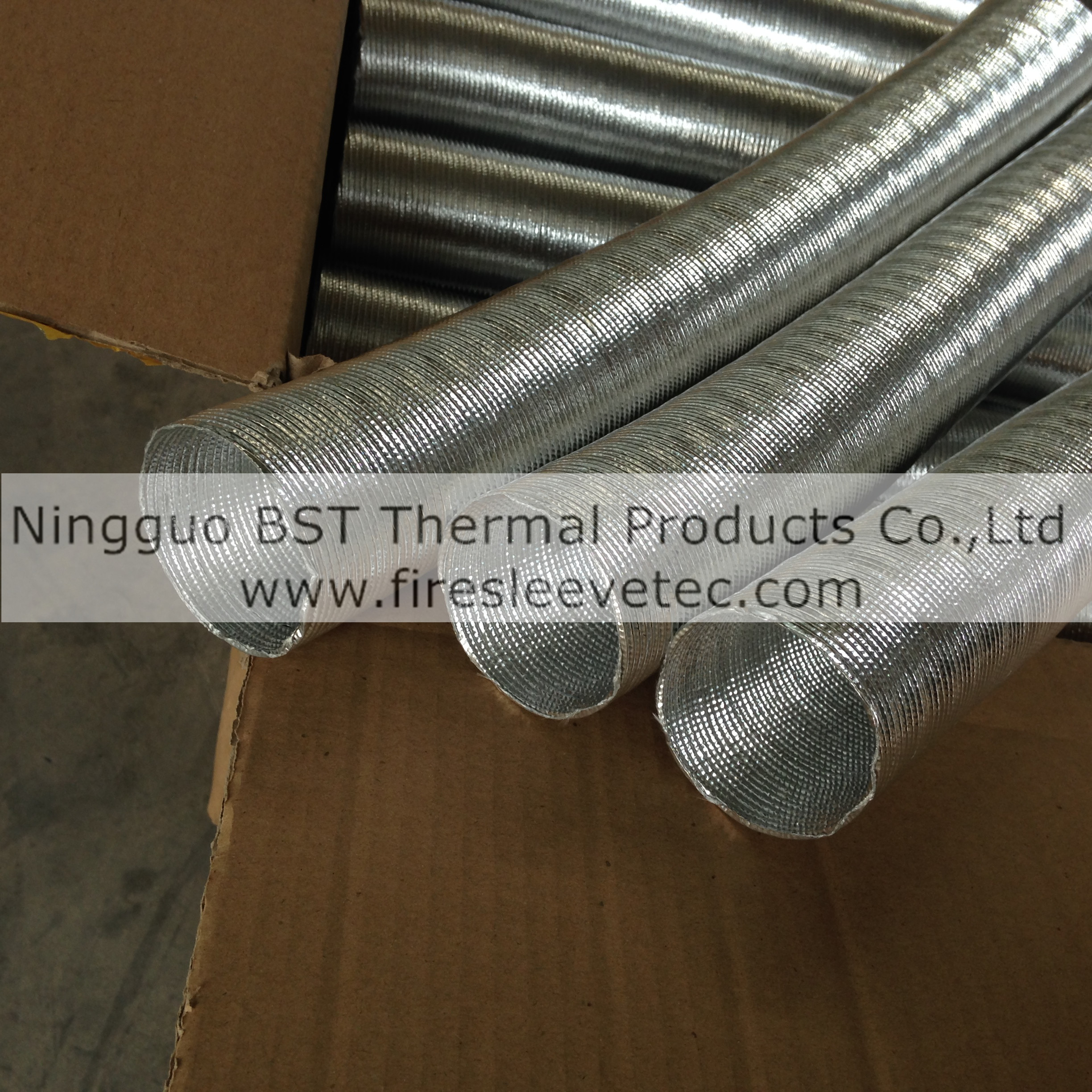 Heat Insulated Sleeves for Hoses