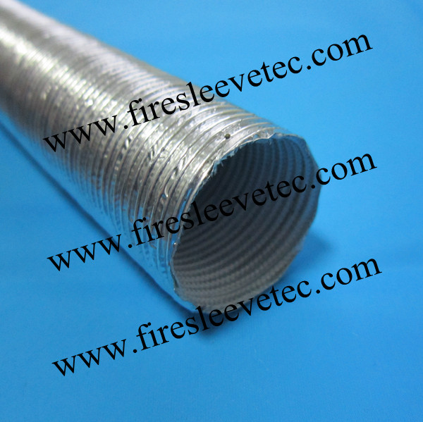 Heat Sheath Sewn Aluminized Line Sleeving