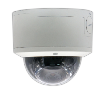H.264 CMOS  Vandal Proof  IR dome network camera-NT783MFVS-IR