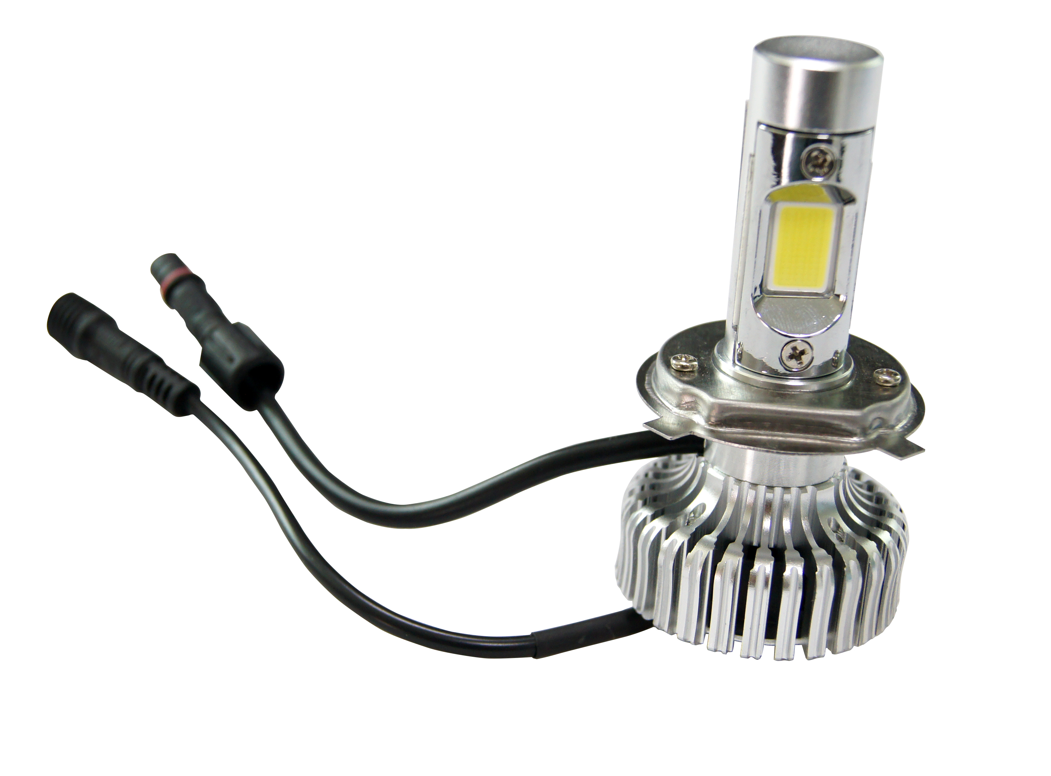 New generation Metal cover H4 COB LED headlight