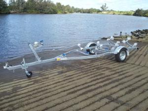 galvanized boat trailers prices CBT-J48 48R