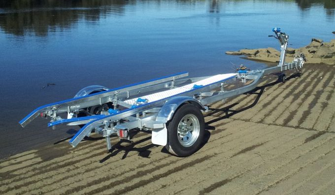 galvanized boat trailers sale CBT-43