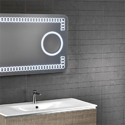 Aluminium Bathroom LED Light Mirror (GS062)