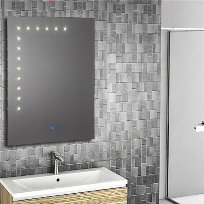 Aluminium Bathroom LED Light Mirror (GS004)