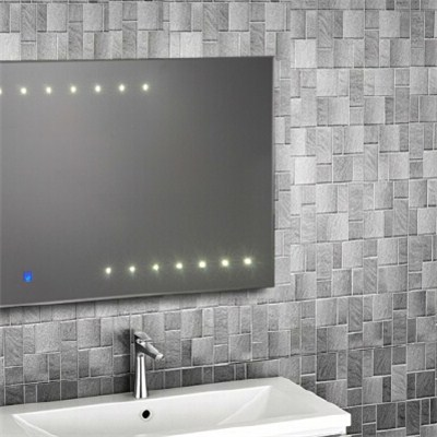 Aluminium Bathroom LED Light Mirror (GS009)