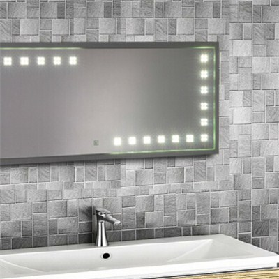 Aluminium Bathroom LED Light Mirror (GS015)