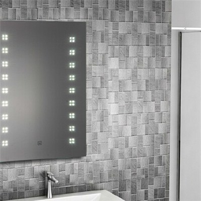 Aluminium Bathroom LED Light Mirror (GS014)