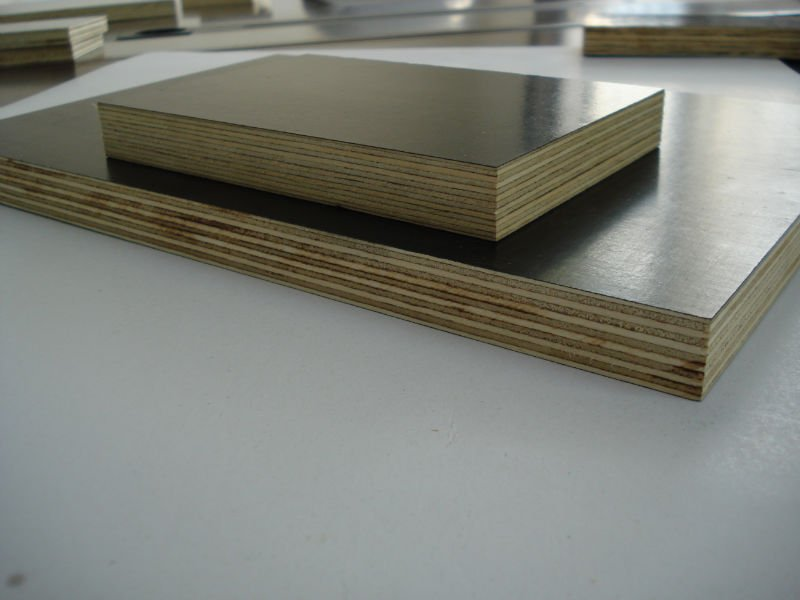1250*2500*5mm brown waterproof film faced plywood press for construction building materials