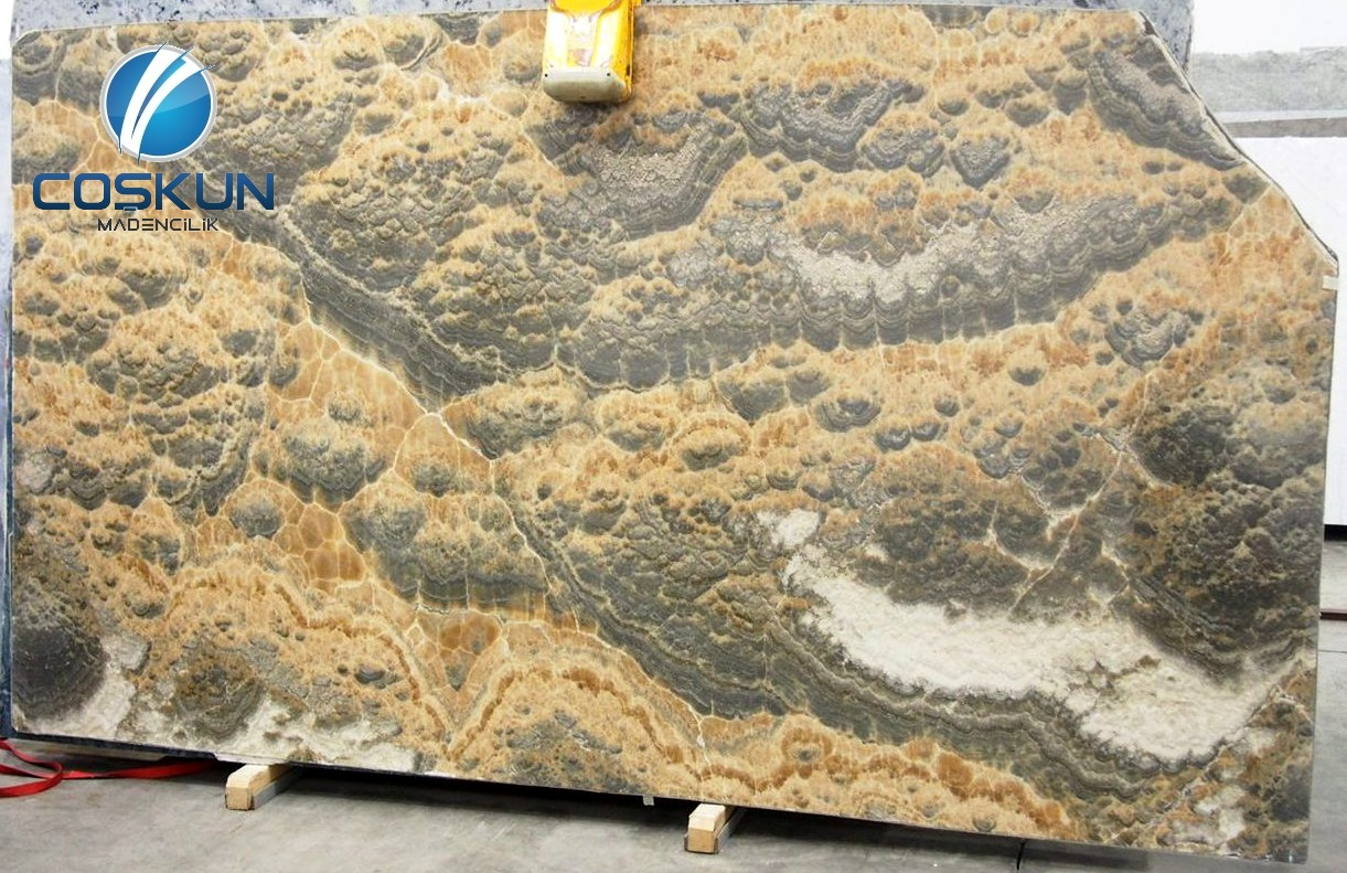 Turkey Sunset Cloud Onyx Blocks & Slabs
