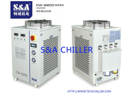 S&A water chiller with dual-circuit refrigeration system