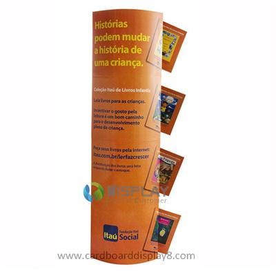 Greeting Card Promotional Display, Automatically Stand Up Cardboard Lama Display with High Quality