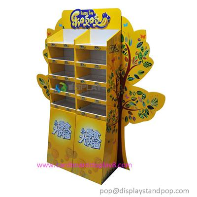 Leading Portable Food Cardboard POP Stands For Sale