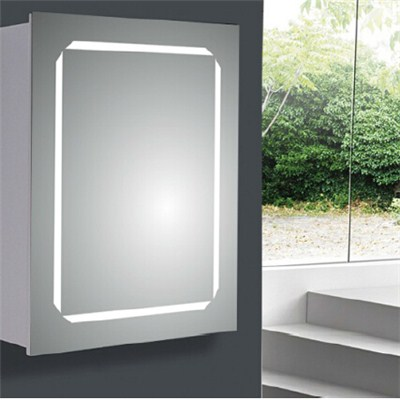 Aluminium Bathroom LED Light Mirror (A-8001)