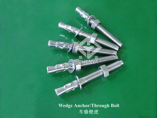 stainless steel wedge anchors Wedge Anchors