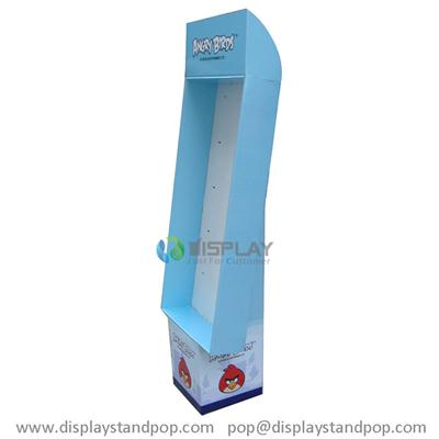 Angry Birds POP Stands, Corrugated Cardboard Displays with Peg Hooks
