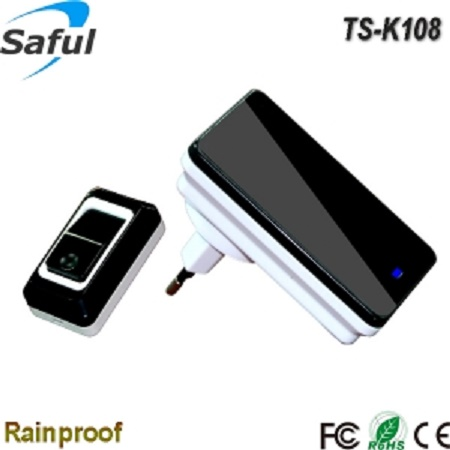 long range wireless doorbell Saful TS-K108 1V1