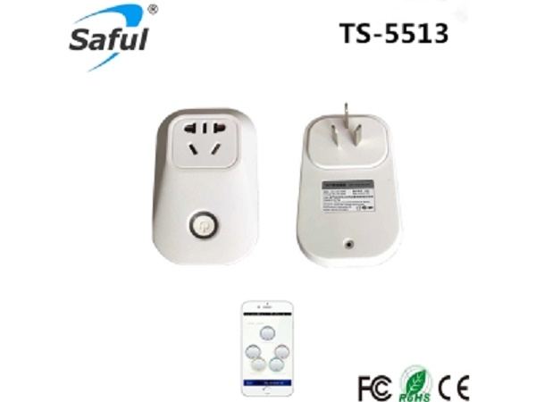 TS-5513 Wireless Socket Plug controlled by app