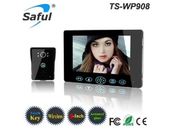 2.4GHz Digital 9 inch Wireless Video Door Phone