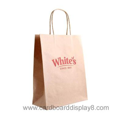 2015 New Products Custom Brown Paper Bags Kraft Paper Bag With Printing