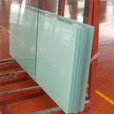 Laminated fireproof glass