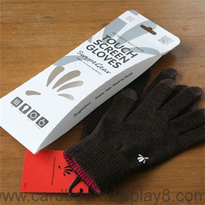 Recycled Paper Gloves Bags with Windows