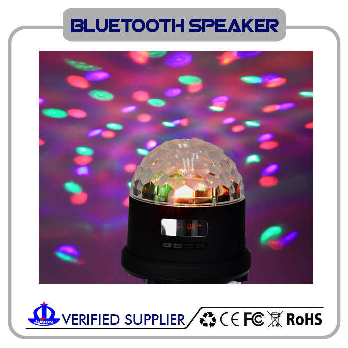 Rotating Magic Ball Bluetooth Speaker