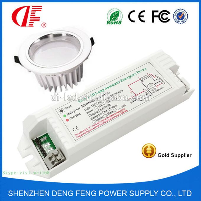 50W LED Emergency Power System , LED Self-test Emergency Kit With 1-10% Emergency Brightness