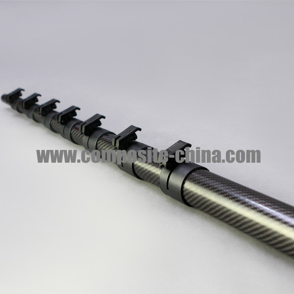 carbon fiber telescoping pole Carbon Fiber Telescopic Pole