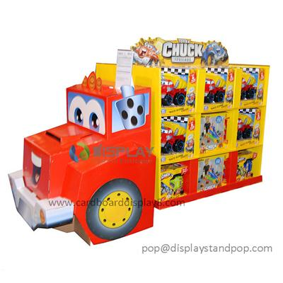 High Quality Customized Luxury Models Cardboard Toy Display Rack