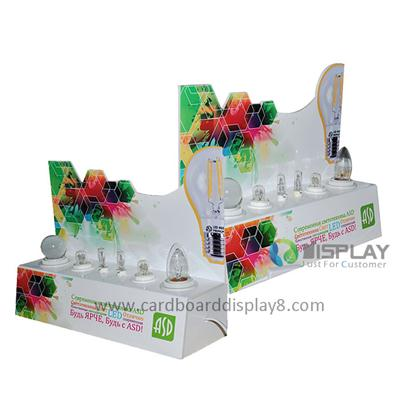 Custom Colorful Acrylic Display Risers For LED Light Display