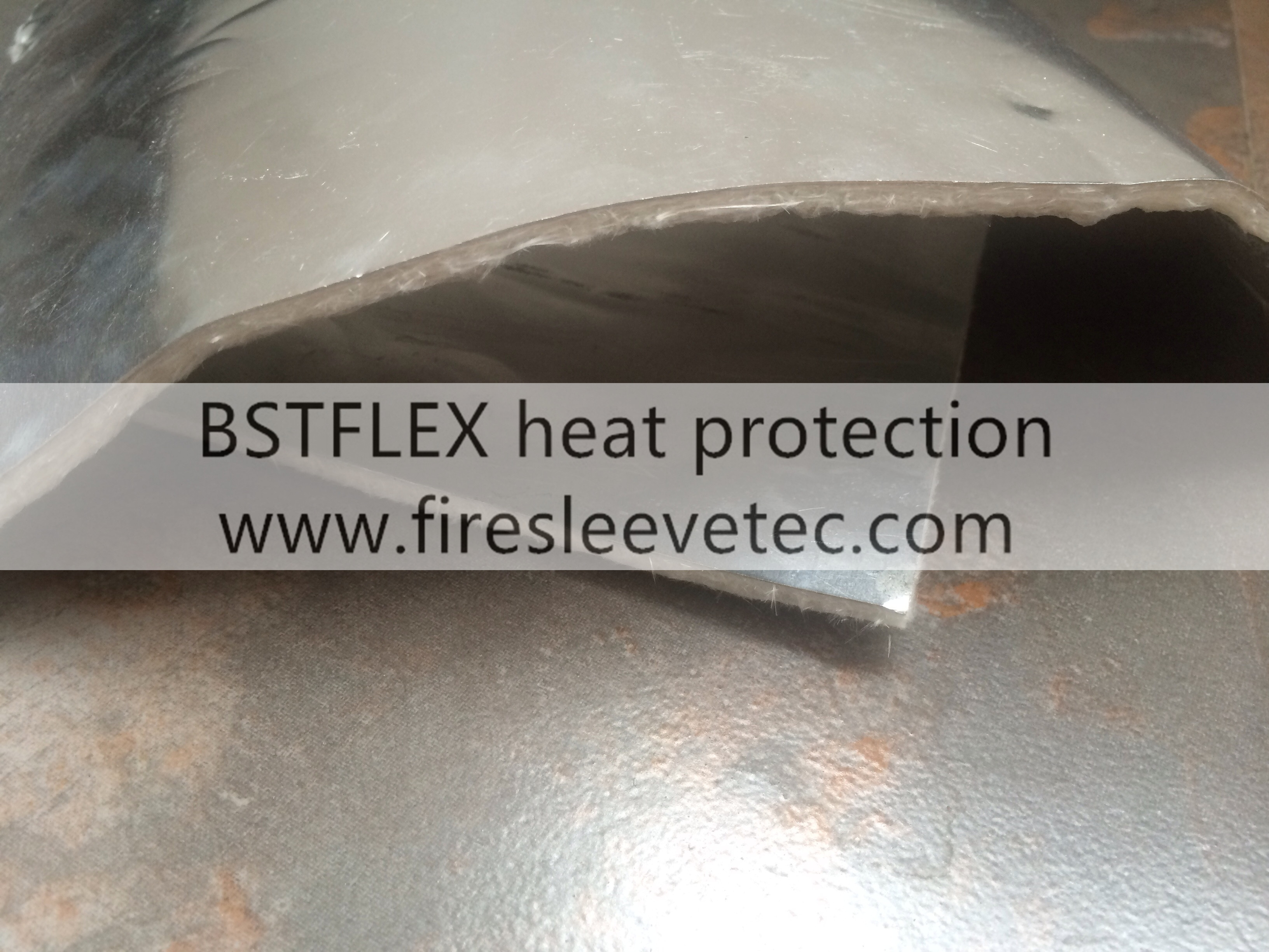 Exhaust Pipe Heat Shield