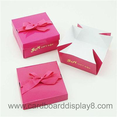Customized Logo Handmade Exquisite Gift Paper Box