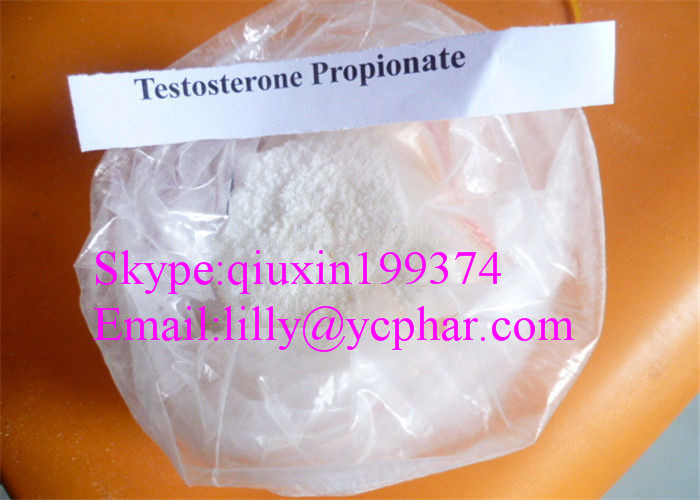Testosterone Propionate 57-85-2 Natural Legal Muscle Building Steroids Powder for Men  & skype:qiuxin199374