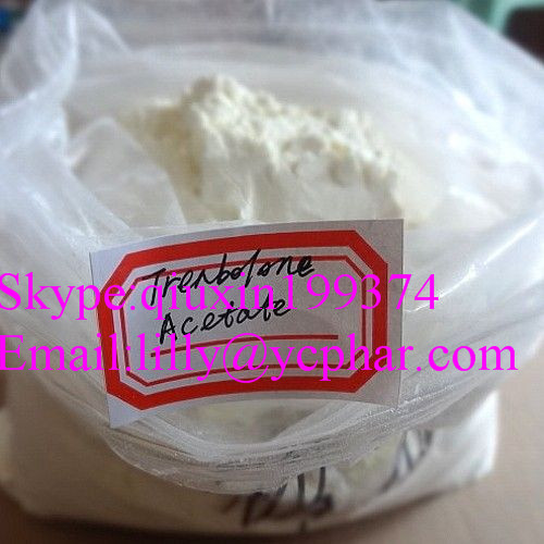 Safety Pure Trenbolone Acetate Anabolic Steroid Hormones Trenbolone Powder Steroids 10161-34-9