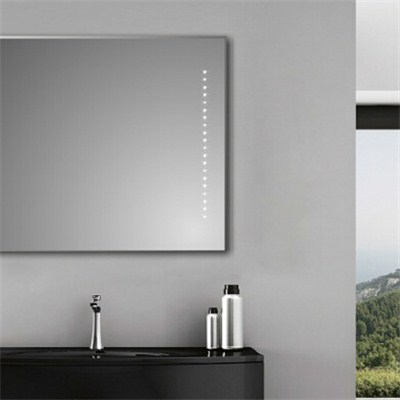 Aluminium Bathroom LED Light Mirror (GS023)