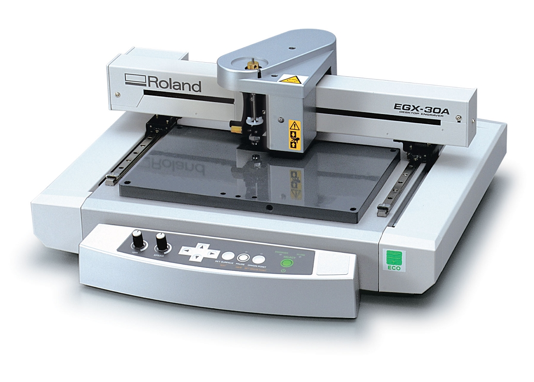 Roland EGX 30A Desktop Engraving Machine