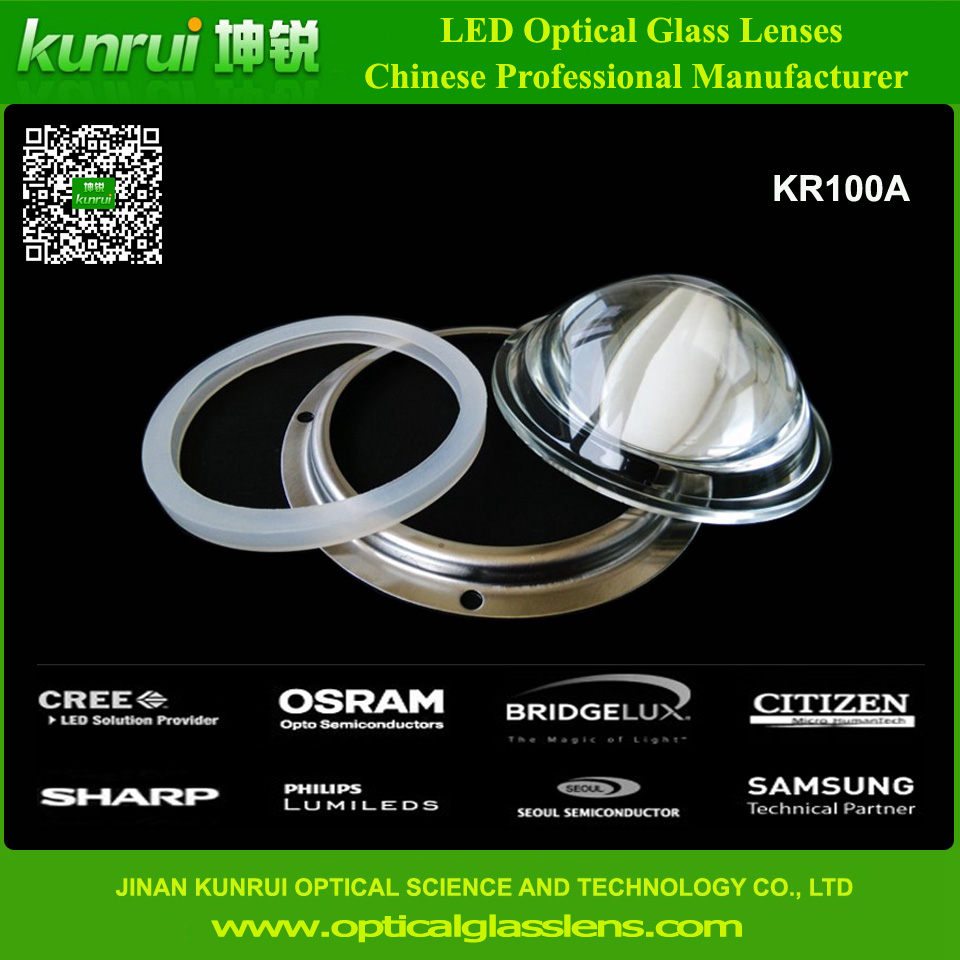 LED Glass Lens for LED High Bay Light (KR100A)