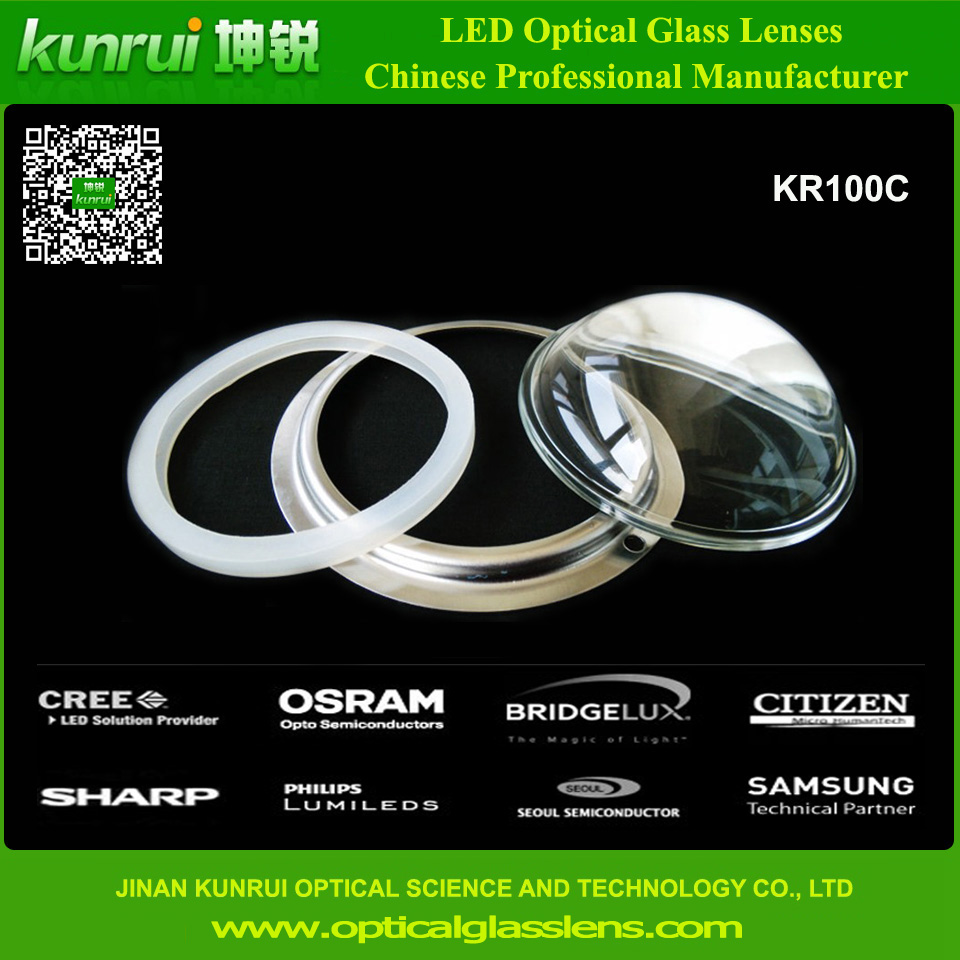 LED Optical Lens for 10W-300W LED High Bay Light (KR100C)