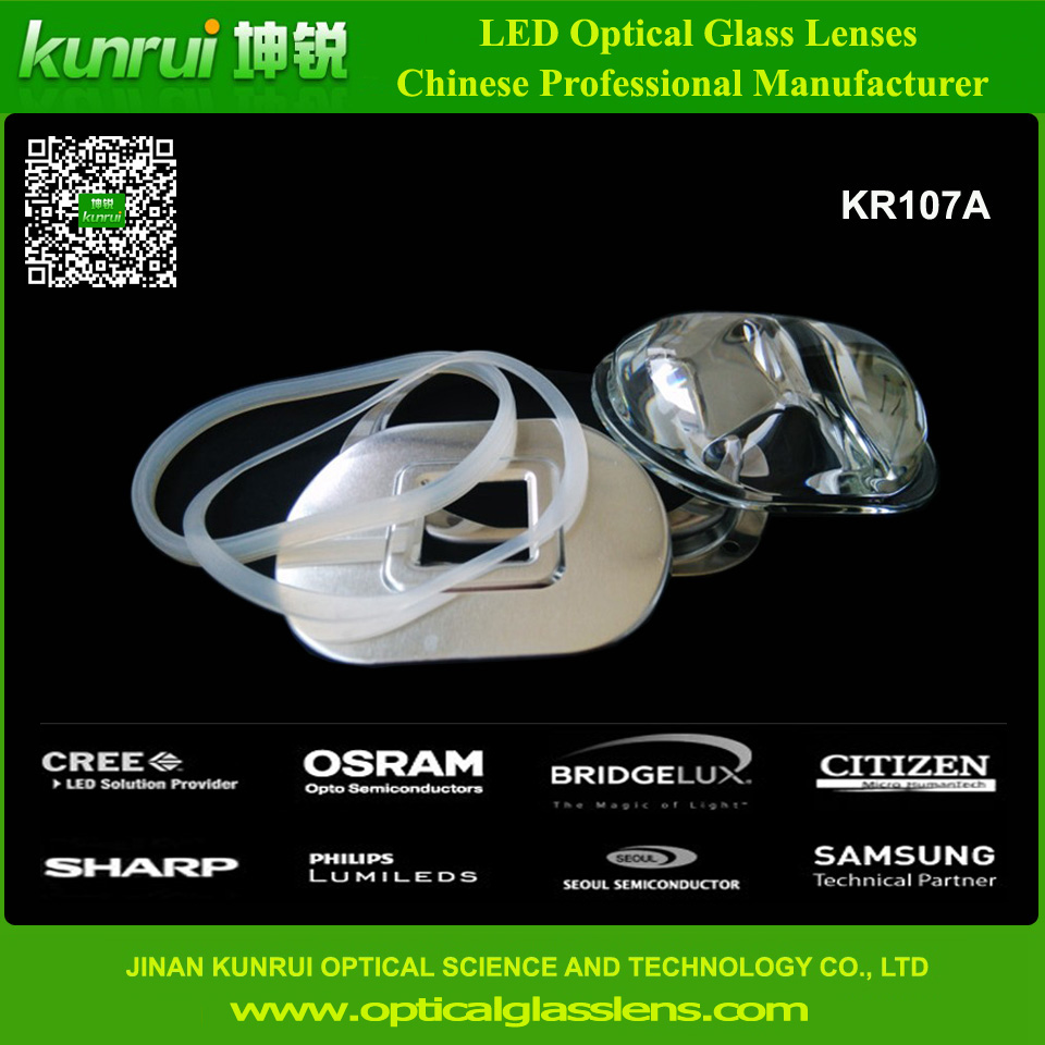 LED Glass Lens for LED Light (KR107A)