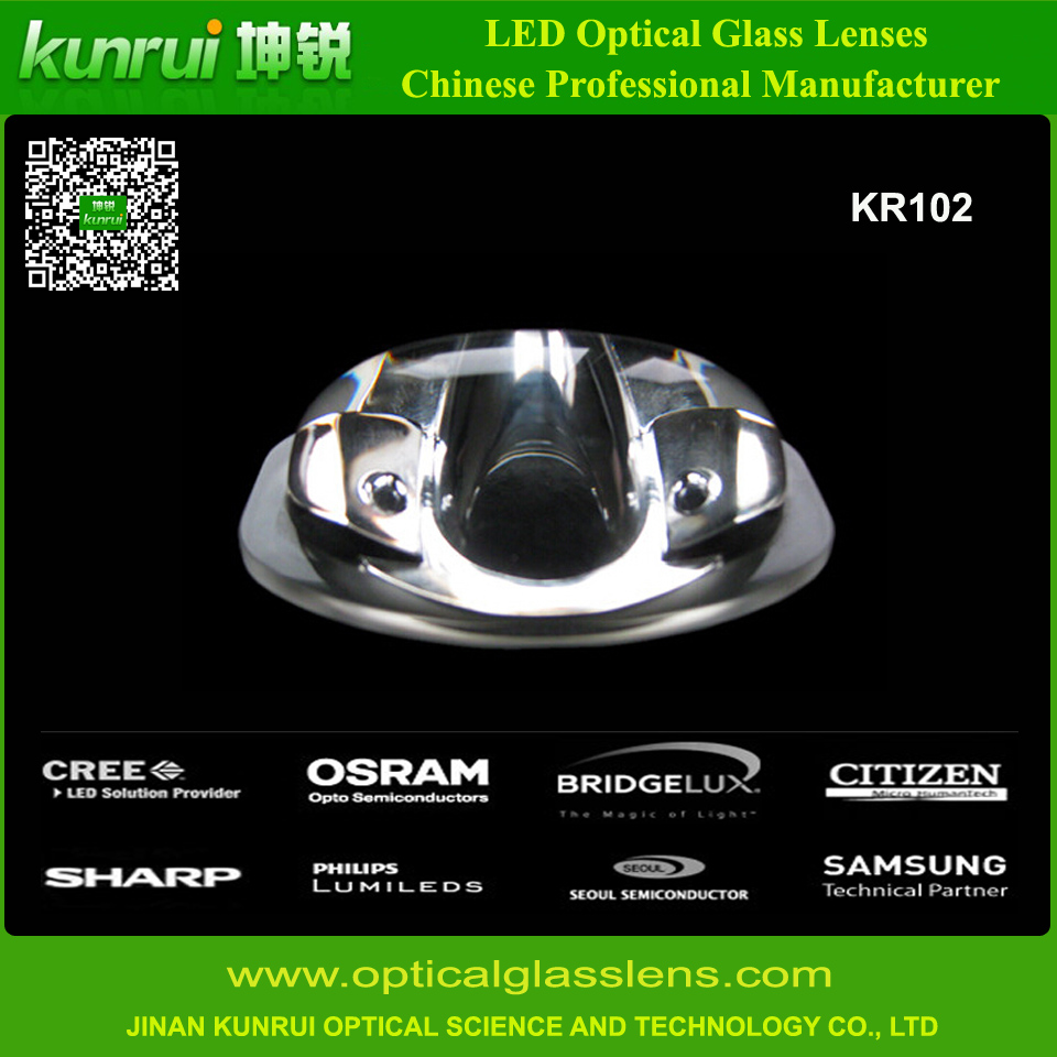 Modular Glass Lens for LED Street Lighting (KR102)
