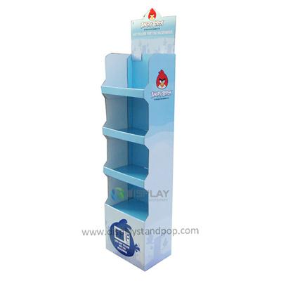 CMYK Printing Corrugated Electronics Display Stand