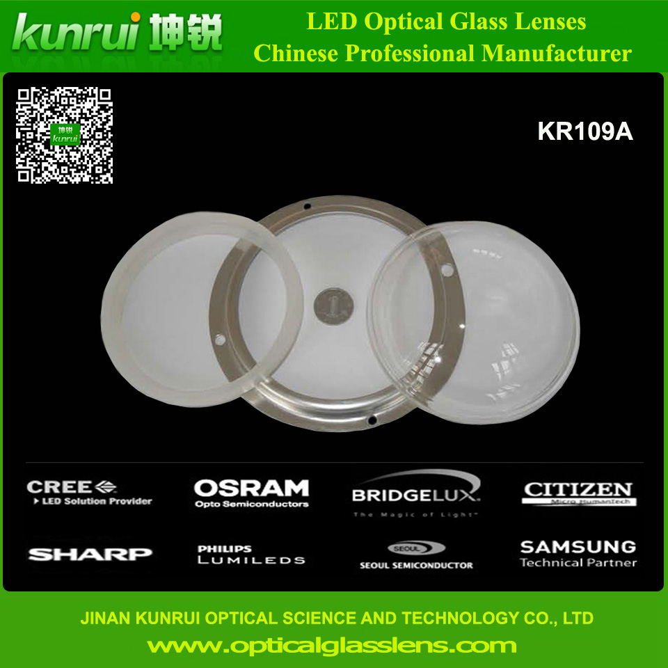 LED High Bay Light Glass Lens (KR109A)