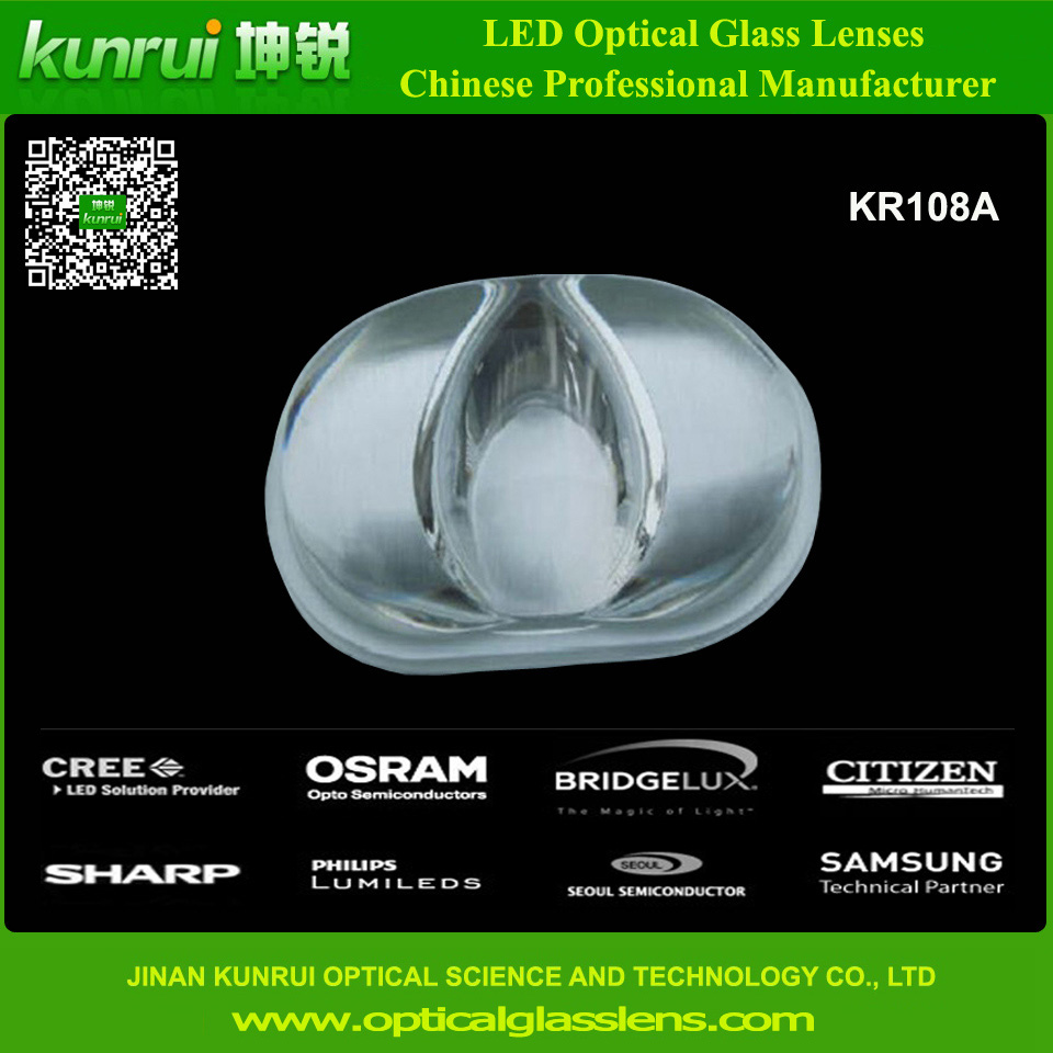 LED Street Light Optical Glass Lens (KR108A)