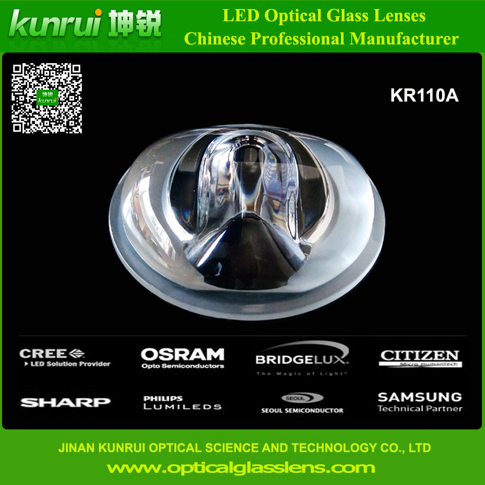 COB Glass Lens for LED Street Light (KR110A)